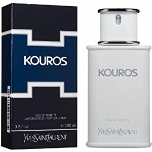 Kouros by Yves Saint Laurent for Men - 3.3 Ounce EDT Spray