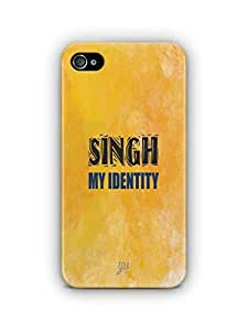 YuBingo Singh My Identity Mobile Case Back Cover for Apple iPhone 4S