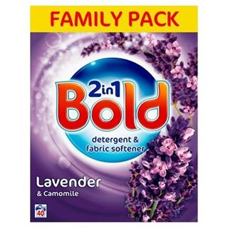 Bold Bio Washing Powder Lavender & Camomile 40 Wash2.6kg