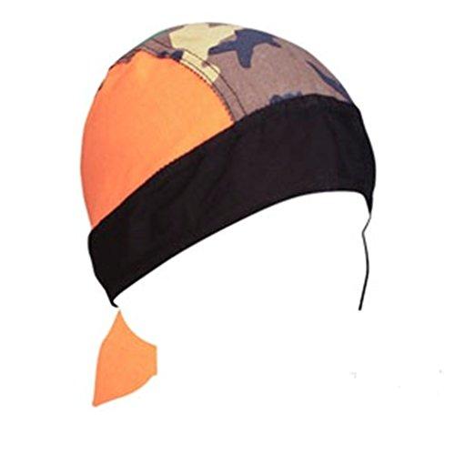 Zan Headgear Flydanna Hunter Orange Jungle Camo Camoflauge Combo (Advantage Timber Camo Fabric compare prices)