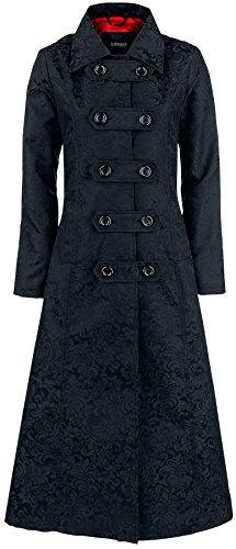 Gothicana by EMP Comtesse Vampire Coat Cappotto donna nero L