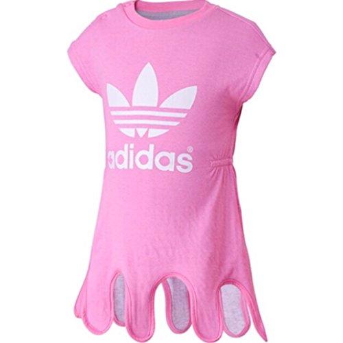 adidas-magliette-basic-collo-a-u-bebe-femminuccia-rosa-rosa-6-9-mesi