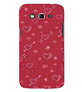 EPICCASE Hearty pattern Mobile Back Case Cover For Samsung Galaxy Grand (Designer Case)