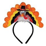 Turkey Headband Party Accessory (1 count) (1 Pkg)