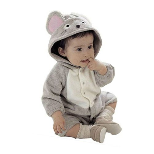 Little Hand Unisex Baby Mouse Mice Costume Romper Playsuit Outfits front-904639
