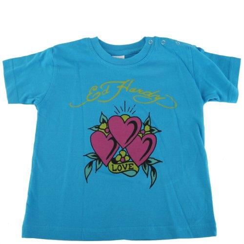 Ed Hardy Baby Girls Heart Tee Shirt front-761886