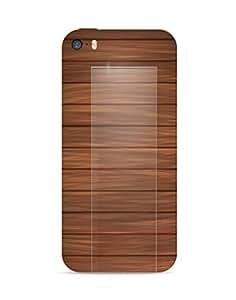 Bagsfull Designer Printed Matte Hard Back Cover Case For Apple Iphone 5c