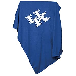 Kentucky Wildcats NCAA Sweatshirt Blanket Throw by Logo Chair