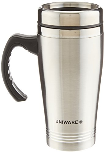 Uniware-2411-16-Oz-Stainless-Steel-Travel-Mug