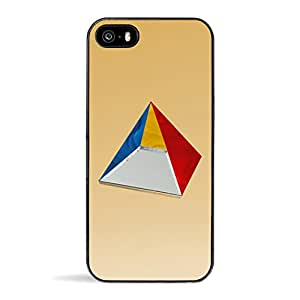 ZERO GRAVITY Prism Cellphone Case for iPhone 5/5s - Retail Packaging - Gold Mirror/Multi