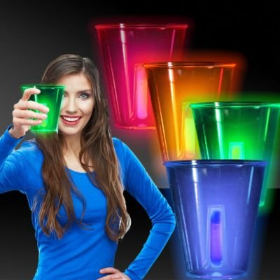 Neon Glow Cups12oz4 Pack