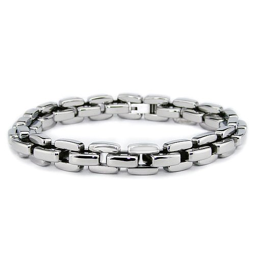 Stainless Steel Men's Bracelet (10mm) 9 Inches