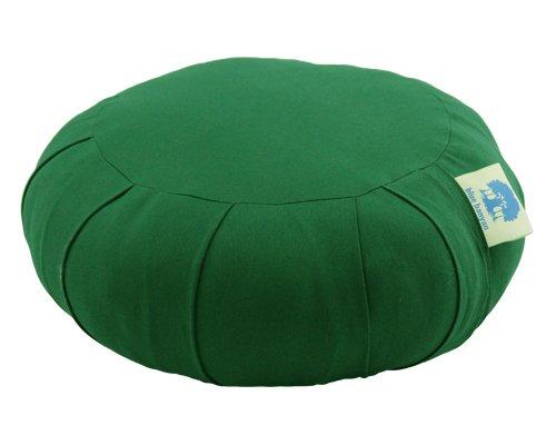 coussin de m ditation coussin de soutien zafu kapok vert fonc coussins traversins et. Black Bedroom Furniture Sets. Home Design Ideas
