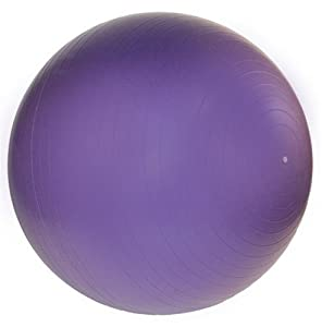 j/fit 65cm Anti-Burst Gym Ball (Purple)