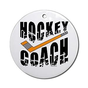 Hockey Coach Ornament Round Round Ornament