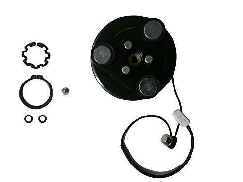 Mazda 3 AC A/C Compressor Clutch Kit - Includes Clutch Plate, Coil, Pulley, and Bearing + Now with original harness (Ac Compressor Bearing compare prices)