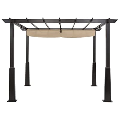 Shade options for high wind patio - Pergola Sliding Shade
