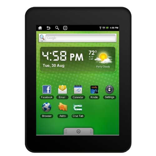 Velocity Micro T301 Cruz 7-Inch Android 2.0 4GB Tablet - Factory Refurbished