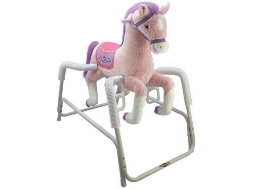 Tek Nek Rockin Rider Lacey Deluxe Plush Spring Horse