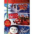 Three Festive Movies: Happy Feet / Jack Frost / Fred Claus [DVD]