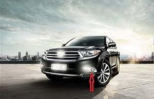 LED daytime running light DRL With Fog lamp cover for Toyota Highlander 11- 2013