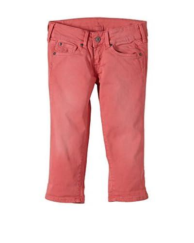Pepe Jeans Pantalone Capri Scarla Crop Junior [Arancione Scuro]