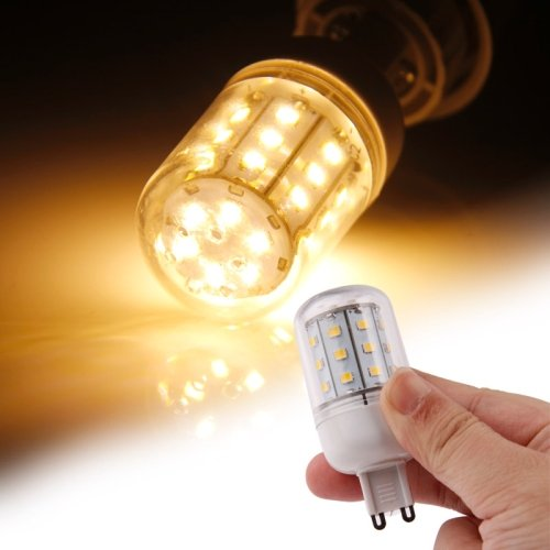Puluz G9 Warm White 4W 30 Led Smd 2835 Corn Light Bulb, Ac 220-240V