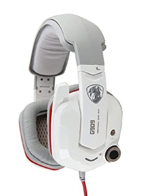 AFUNTA High Quality Genuine Somic G-909 Virtual(not Real) 7.1 Surround Sound Effect Gaming Headset Professional PC Games Headphone with Intelligent/Strong Vibration System Germany-VIB Technology with Shock-cushion Beam and High Sensitivity Microphone Bass