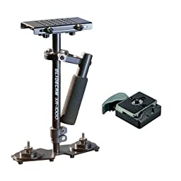 Glidecam XR-Series XR-1000 Hand held Stabilizers w/ Manfrotto 323 RC2 Rapid Connect Adapter with 200PL-14 Quick Release Plate