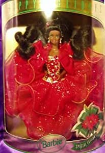 1993 Happy Holidays African American Barbie Doll Special Edition by Mattel, Inc.