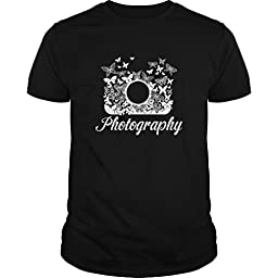 Photography Funny Photography Shirt (Small,Black)