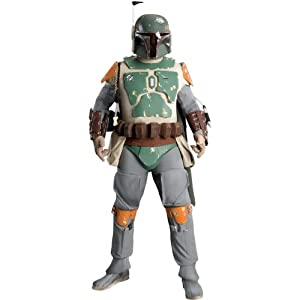 Star Wars, Boba Fett Costume, Collector Supreme Edition, Adult Standard
