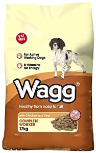 Wagg Complete Worker Chicken & Vegetables Dry Mix 17kg