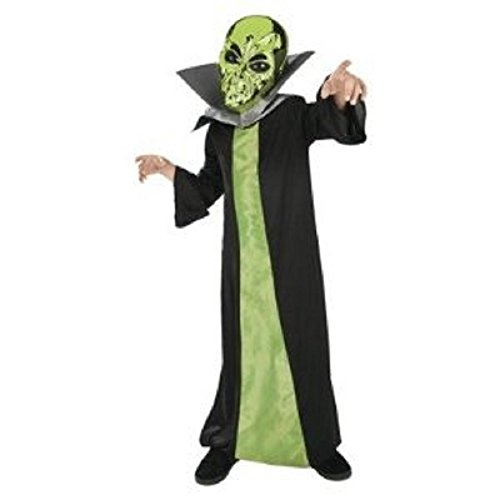 Spaced Out Alien Costume Childs Sz Small 4-6 - 1