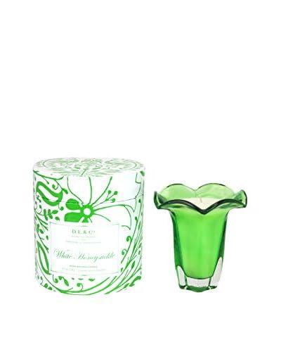D.L. & Co. White Honeysuckle 5-Oz. Tulip Candle