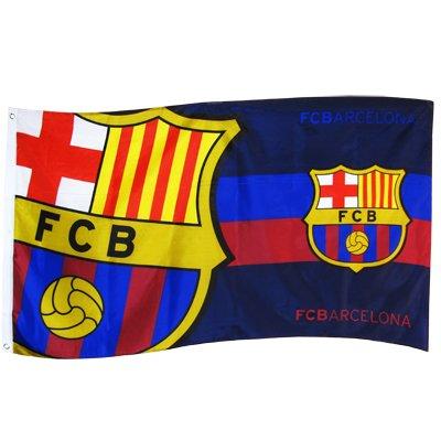 Fc Barcelona Official Product Polyester Flag New Season Design Hz