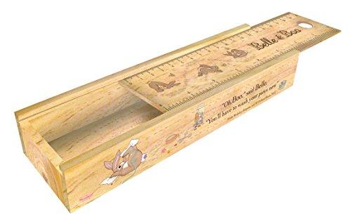 Belle & Boo Wooden Sliding Pencil Box