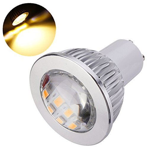 Kingso 6W Gu10 5630 16 Smd Led 110V Light Lamp Bulb Warm White