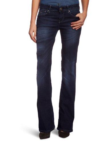 G-Star - 3301 Bootleg Wmn, Jeans bootcut da donna, blu (Blau  (dk aged 89)), 40/42 IT (27W/30L)