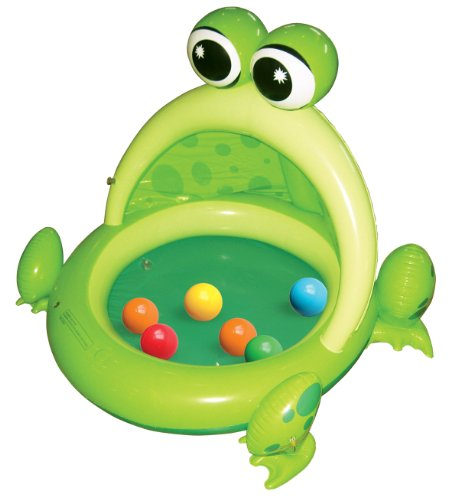 Ball Bounce And Sport Frog Inflatable Ball Pit