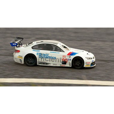 HPI Racing 1:10 Model car Nitro Street model BMW M3 4WD RS4 Evo RtR 2.4 GHz