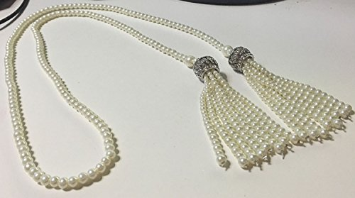 YallFF-ART-Deco-1920s-Flapper-the-Great-Gatsby-Inspired-Double-Crown-Tassel-Pendants-Rhinestone-Crystal-Faux-Imitation-Pearls-47-Chian-Rope-Necklace