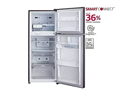 LG GL-D322JGFL Frost free Double-door Refrigerator (310 Ltrs, 4 Star Rating, Graphite Florid)