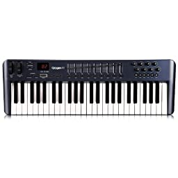 M-Audio Oxygen 49 MK III 49-Key USB MIDI Keyboard Controller (OLD MODEL)