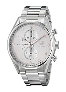 TAG Heuer Men's CAR2012.BA0796 Analog Display Automatic Self Wind Silver Watch
