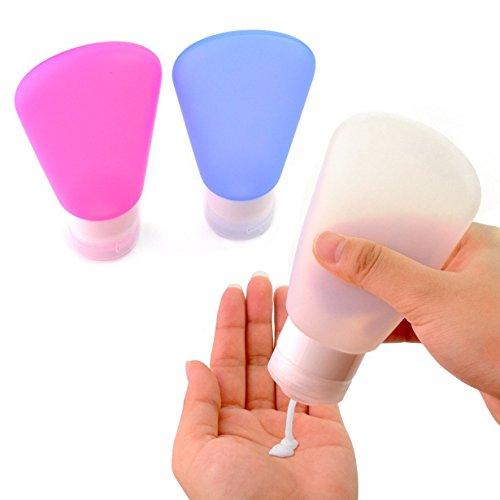 sumersha-bouteilles-de-voyage-flacons-de-liquide-pour-shampooing-gel-douche-huile-solaire-3pcsblanc-