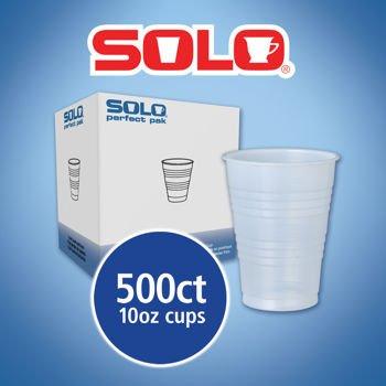SOLO Cup Company OFY10R0100 Galaxy Translucent Cups, 10oz, 500/Carton