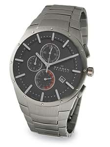 Skagen Men's 692XXLTXM Titanium Chronograph Watch