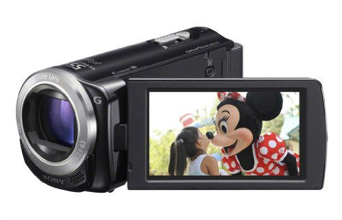 41%2BRnC3TBTL Sony HDR CX260V High Definition Handycam 8.9 MP Camcorder with 30x Optical Zoom and 16 GB Embedded Memory (Black) (2012 Model)
