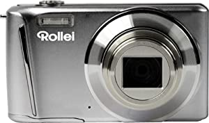 Rollei Powerflex 700 Full-HD Digitalkamera (12 Megapixel, 8-Fach opt. Zoom, 7,6 cm (3 Zoll) LCD, 25mm Weitwinkelobjektiv, Bildstabilisator) silber